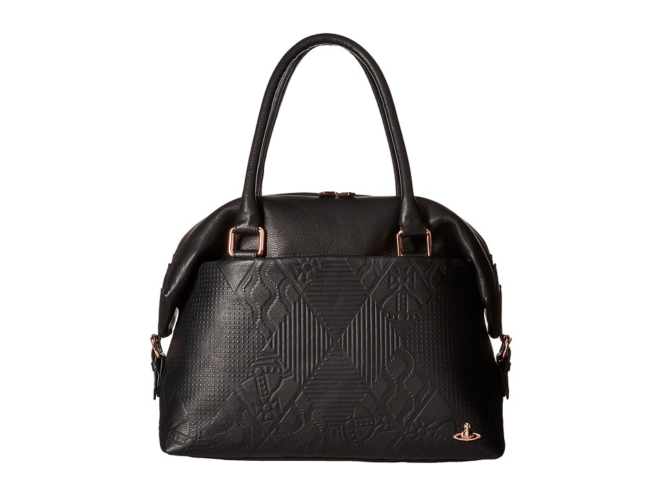 Vivienne Westwood - Hogarth (Black) Satchel Handbags