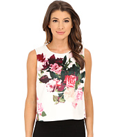 Vince Camuto - Sleeveless Rose Bouquet Shell