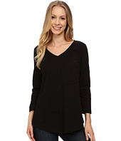 Mod-o-doc - Classic Jersey Seamed V-Neck Pullover