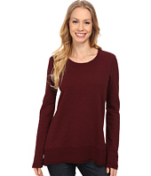 Mod-o-doc - Slub French Terry Scoop Neck Pullover w/ Thermal Banded Hem
