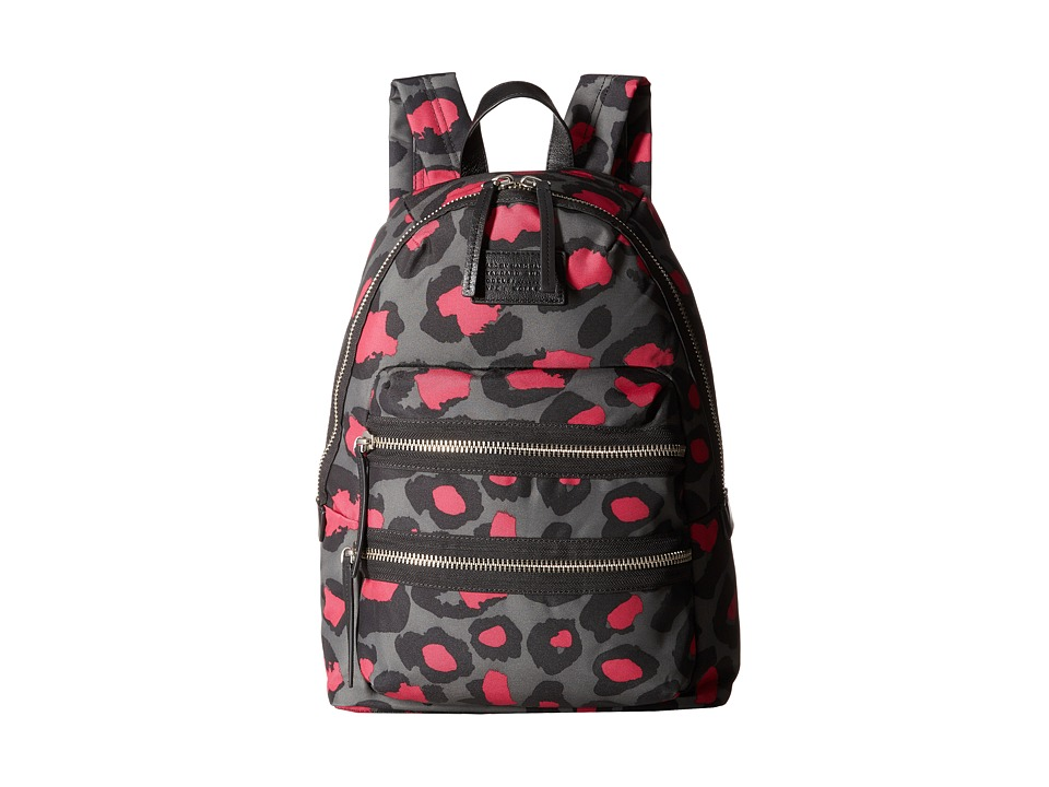 Marc by Marc Jacobs Domo Arigato Printed Leopard Packrat Raspberry Sorbet Multi Backpack Bags