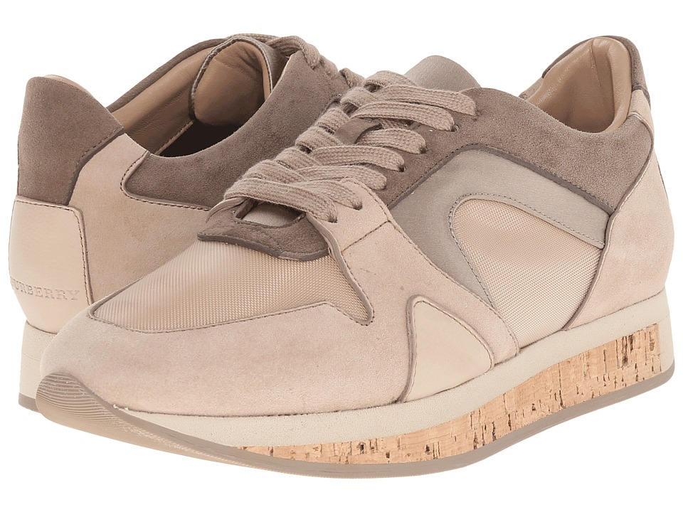Burberry - Field Sneaker (Light Nude) Women's Lace up casual Shoes