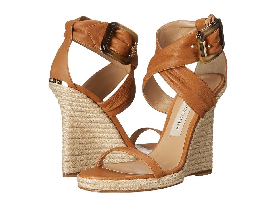 Burberry Catsbrook Camel Womens Shoes