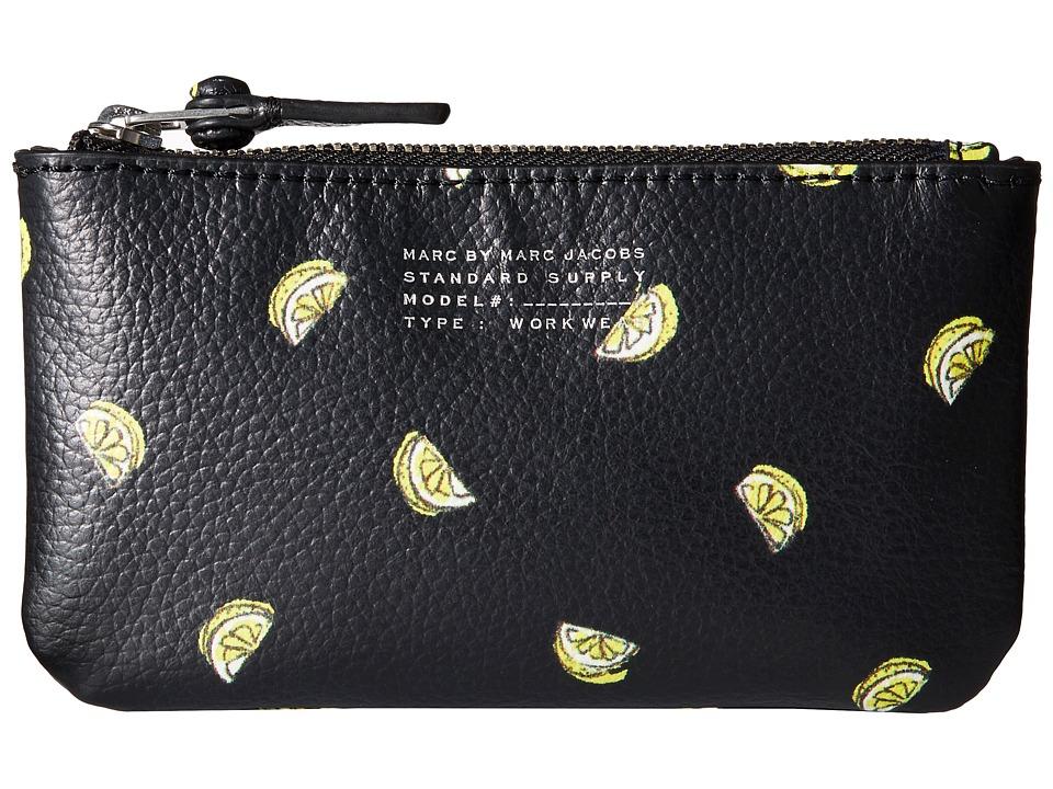 Marc by Marc Jacobs Fruit Key Pouch Lemon Print Travel Pouch