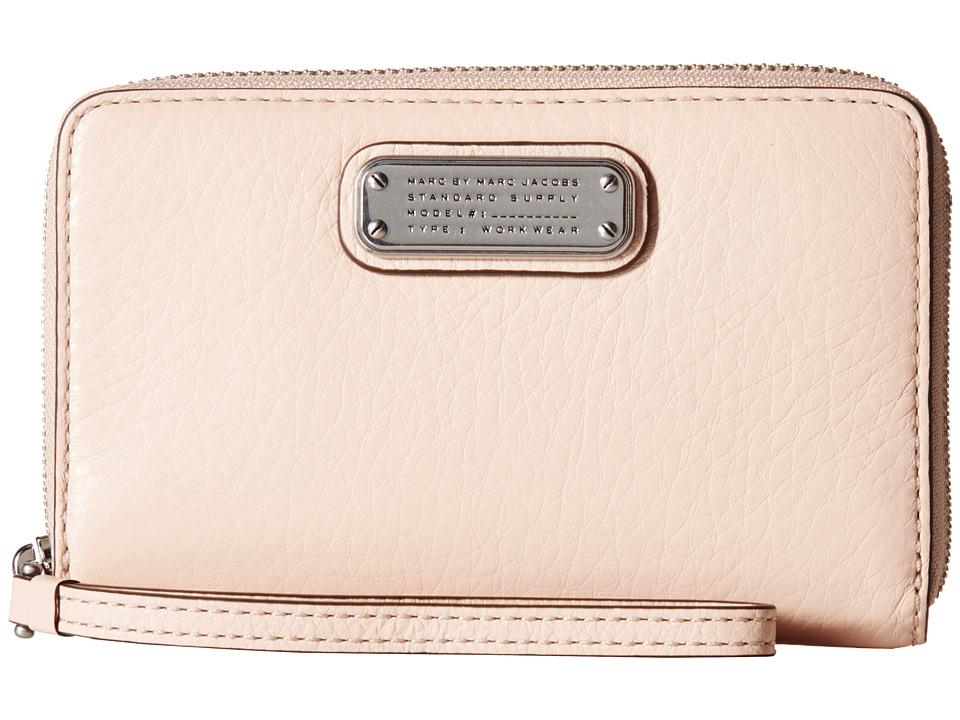 Marc by Marc Jacobs New Q Wingman Pearl Blush Clutch Handbags