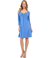 Mod-o-doc - Cotton Modal Spandex Jersey Ruched Babydoll Dress