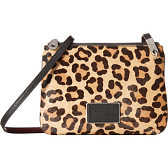 MARC BY MARC JACOBS Ligero Leopard Double Percy Genuine Crossbody Bag