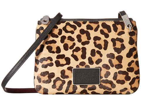 Ligero Leopard Double Percy Crossbody Bag