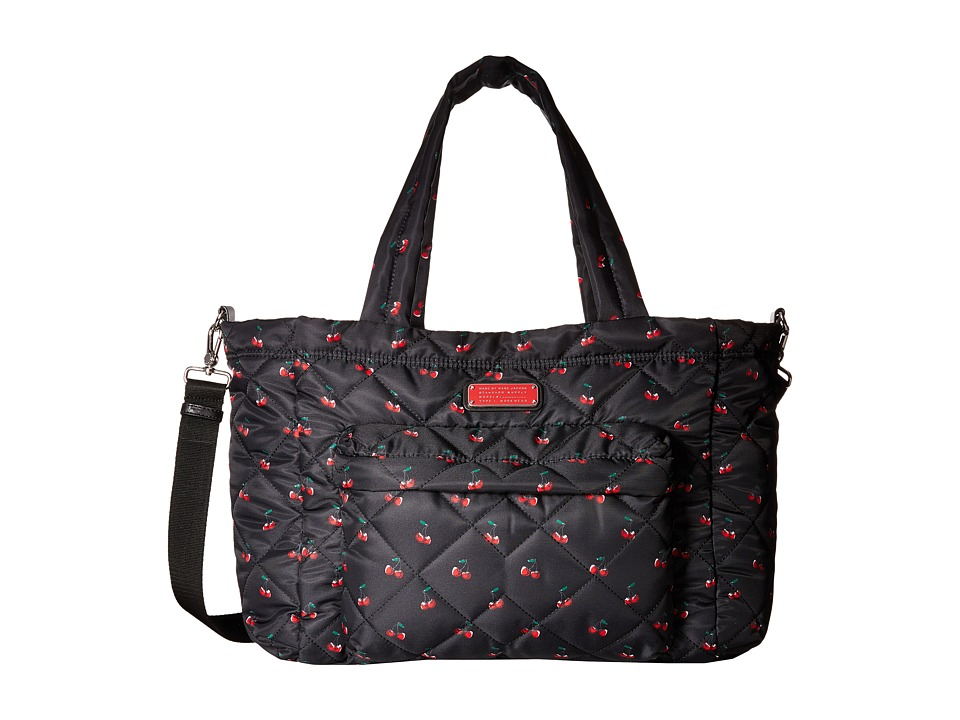 Marc by Marc Jacobs Crosby Quilt Nylon Printed Fruit Elizababy Cherry Print Handbags