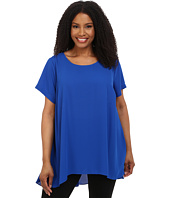 Vince Camuto Plus - Plus Size Elbow Sleeve High-Low Hem Blouse
