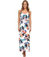 Vince Camuto - Floral Garden Maxi Dress w/ Crop Overlay