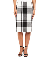 Vince Camuto - Plaid Pencil Skirt