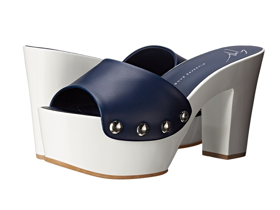 Giuseppe Zanotti Low Heel Studded Clog Birel Space Womens Shoes