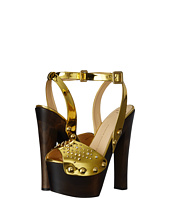 Giuseppe Zanotti - Studded Wooden Sandal