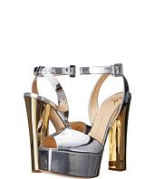 Giuseppe Zanotti - Metallic Chunky Heel Sandal