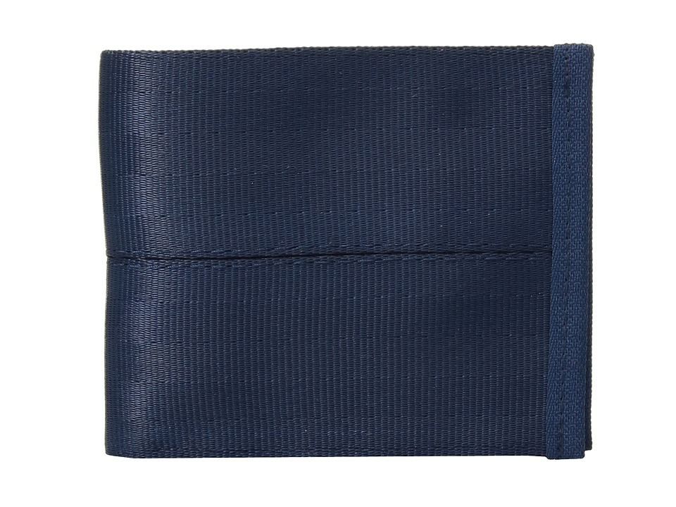 Harveys Seatbelt Bag - Billfold Wallet (Indigo) Handbags