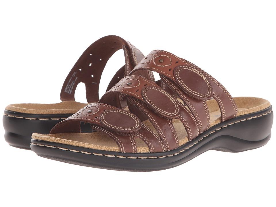 Clarks Leisa Cacti Q (Brown Multi) Sandals