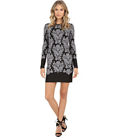 Nicole Miller - Baroque Embroidered Neoprene Dress