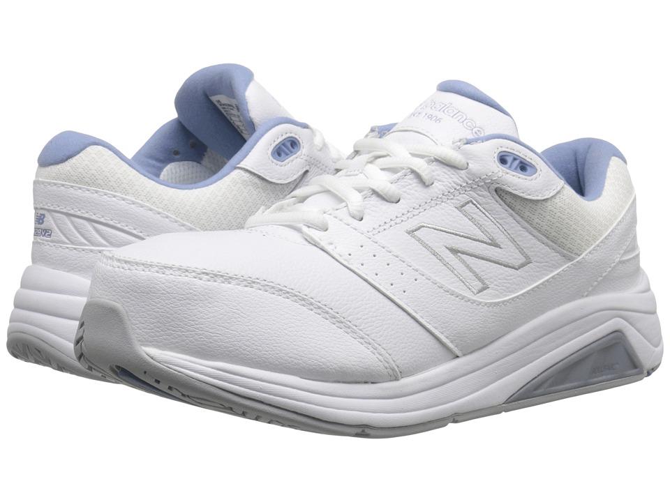 New Balance - WW928v2 (White/Blue) Womens Walking Shoes