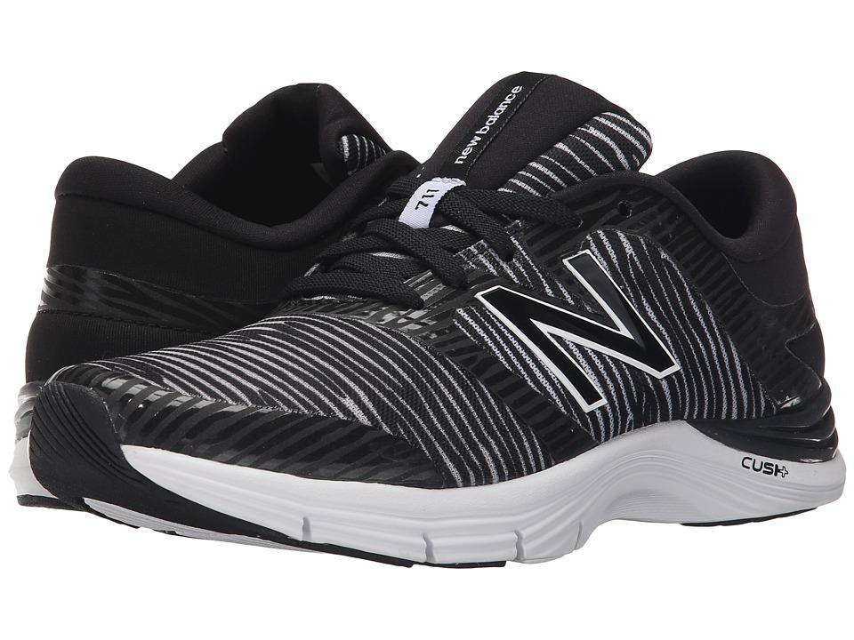 New Balance WX711v2 Black/White Womens Cross Training Shoes
