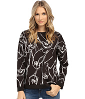 kensie - Sketchy Owls Sweatshirt KS1K3894