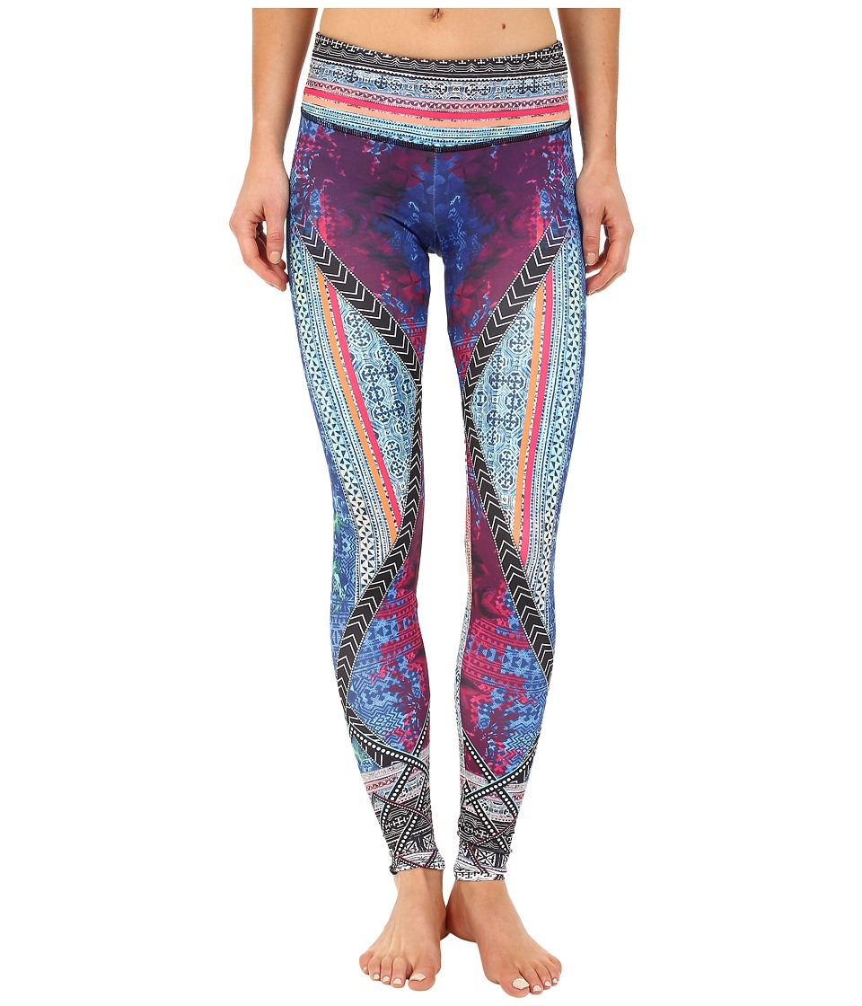 Onzie Indo Mix Graphic Leggings Indo Mix Womens Casual Pants
