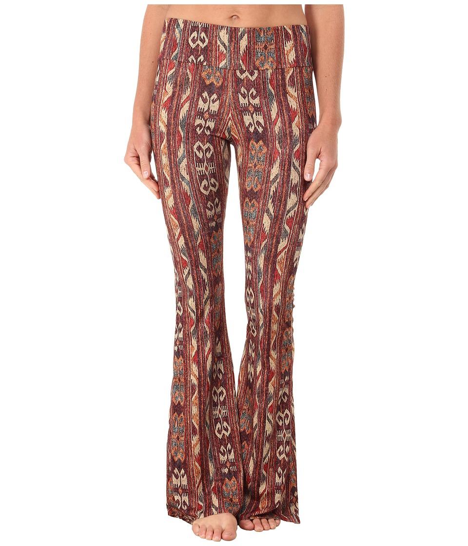 Onzie Flare Pants Warm Tribal Womens Casual Pants