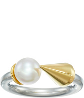 Majorica - Spiked Open Pearl Ring