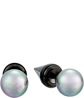 Majorica - Spiked Back Pearl Stud Earrings