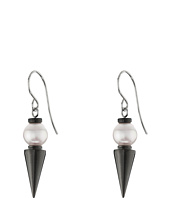 Majorica - Spiked Pearl Drop Earrings