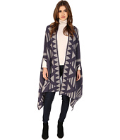 Michael Stars - Desert Triangle Reversible Knit Cape