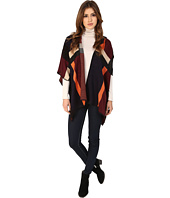 Michael Stars - Geometric Reversible Knit Cape