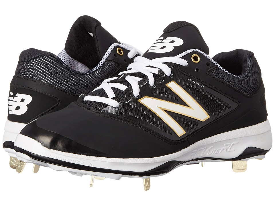 New Balance - 4040v3 Low (Black/Black) Men