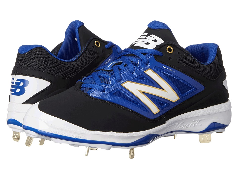 New Balance - 4040v3 Low (Black/Blue) Men
