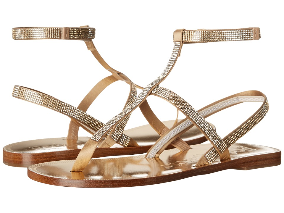 Pedro Garcia Ilania Ore Satin Womens Dress Sandals