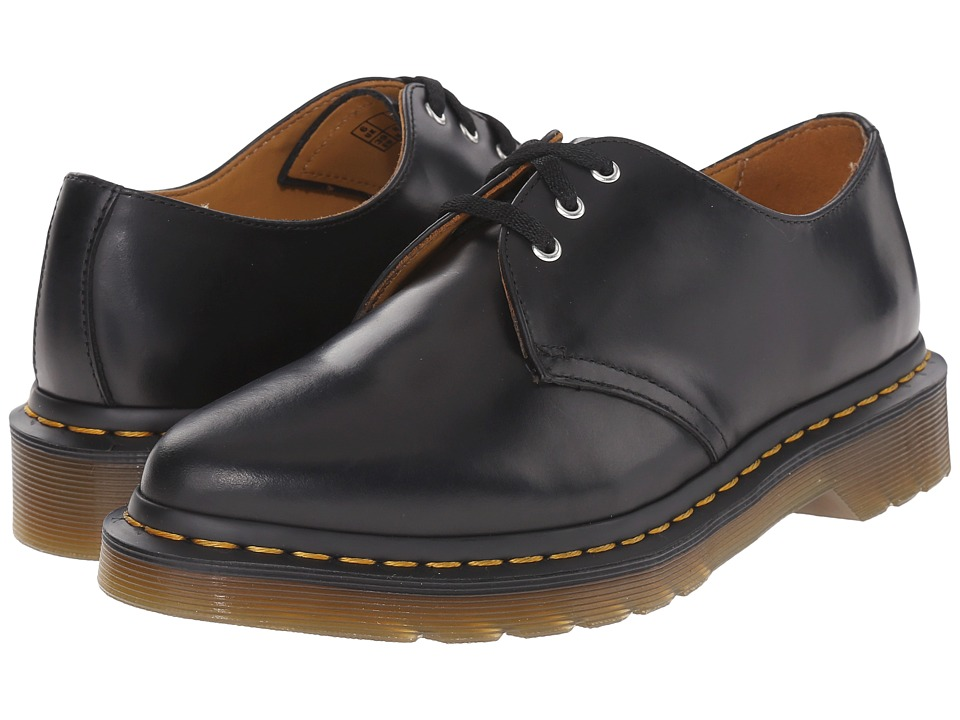 Dr. Martens Dupree 3 Eye Shoe Black/Polished Finoli Womens Lace up casual Shoes