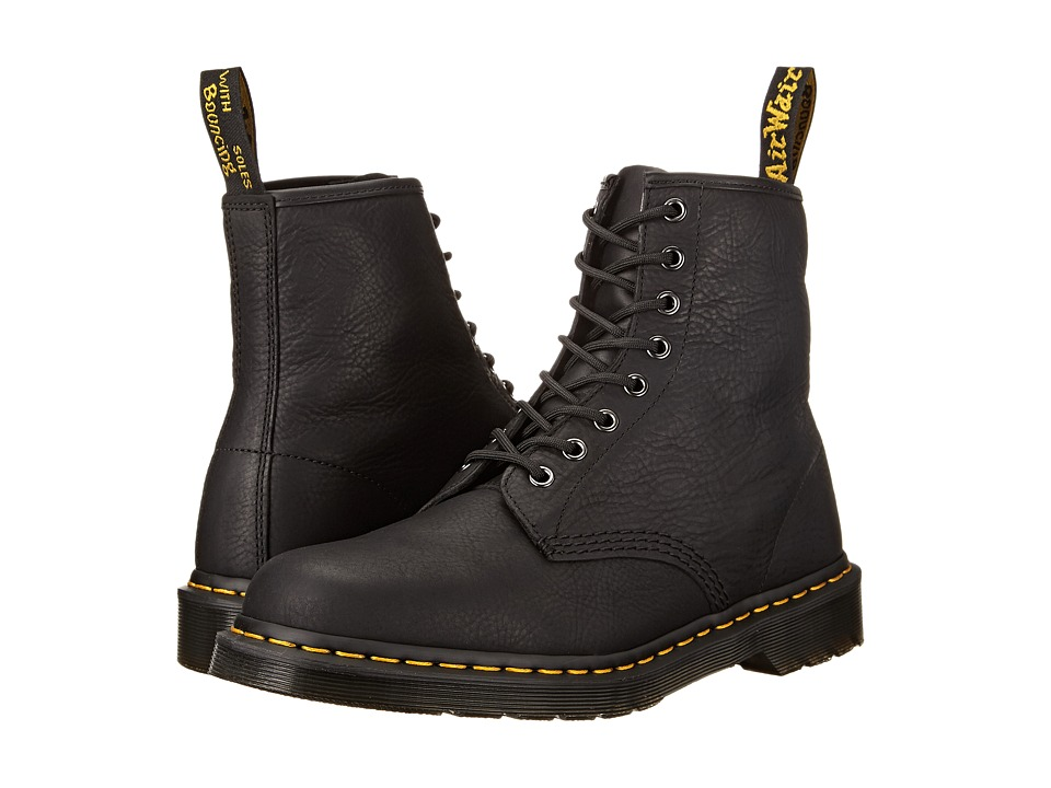 Dr. Martens - 1460 8-Eye Boot Soft Leather (Black Carpathian) Mens Lace-up Boots