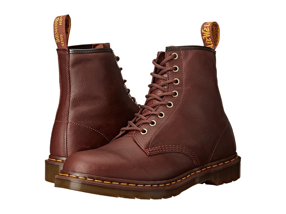 Dr. Martens - 1460 8-Eye Boot Soft Leather (Tan Carpathian) Men