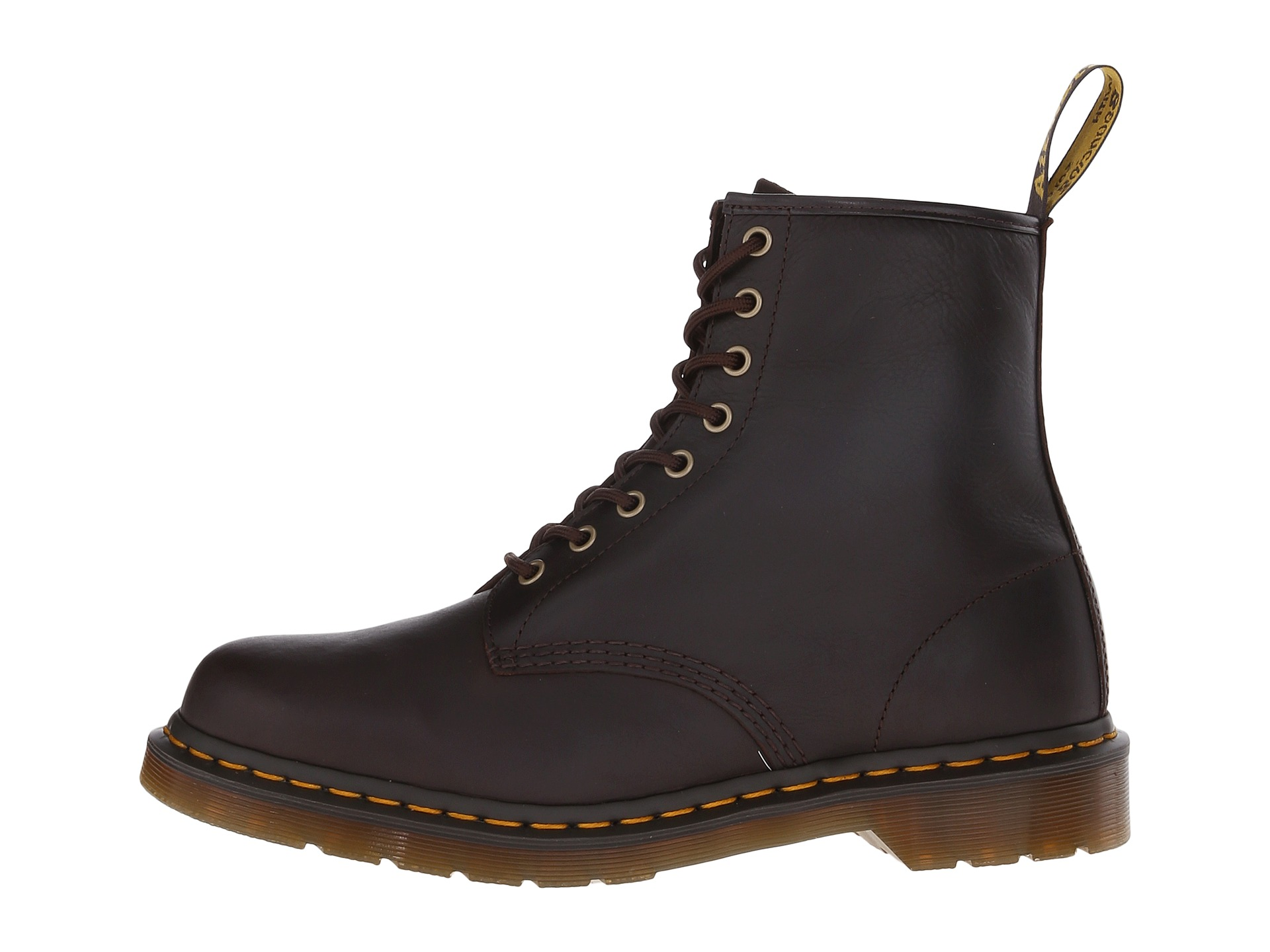 dr martens 1460 8 eye boot soft leather chocolate