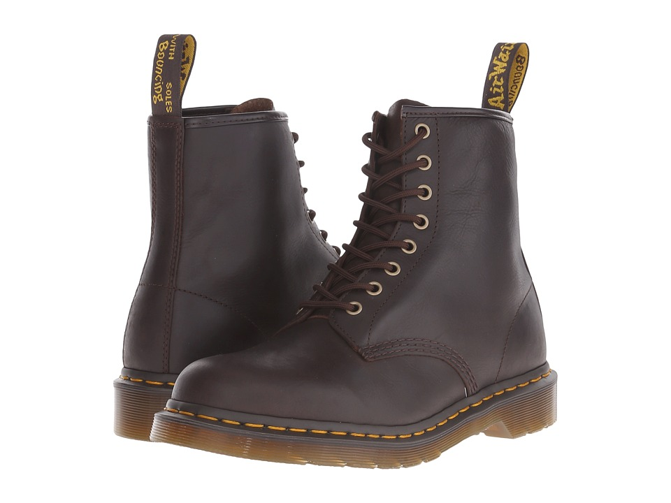 Dr. Martens - 1460 8-Eye Boot Soft Leather (Chocolate Carpathian) Men