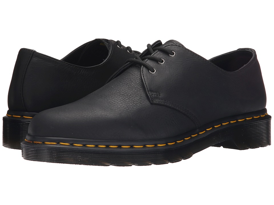 Dr. Martens - 1461 3-Eye Shoe Soft Leather (Black Carpathian) Men