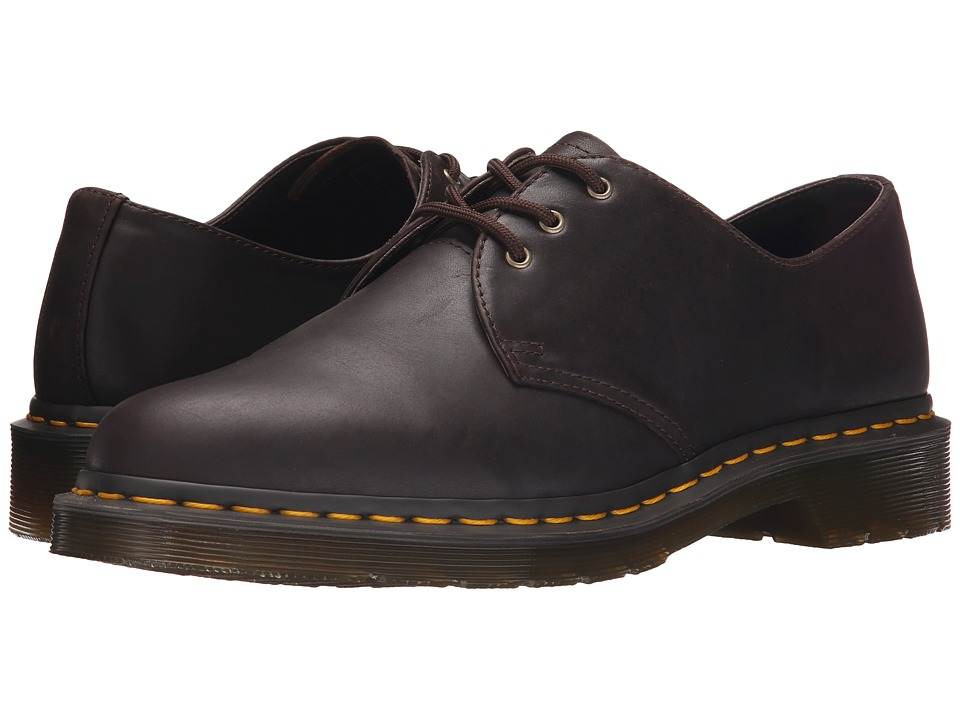 Dr. Martens - 1461 3-Eye Shoe Soft Leather (Chocolate Carpathian) Men
