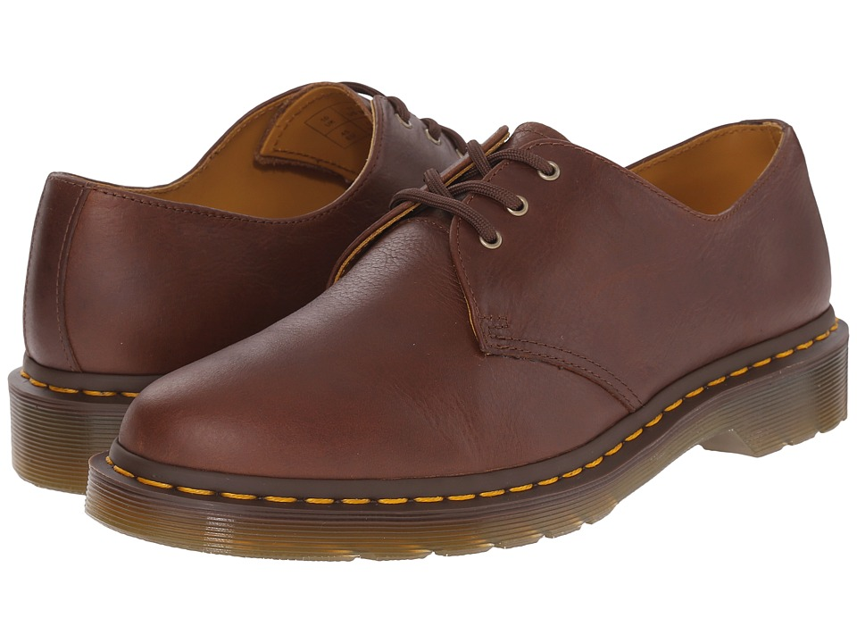 Dr. Martens - 1461 3-Eye Shoe Soft Leather (Tan Carpathian) Men