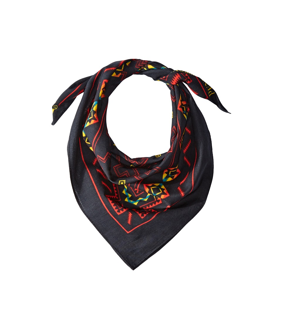 Pendleton Bandana Pueblo Cross Black Scarves