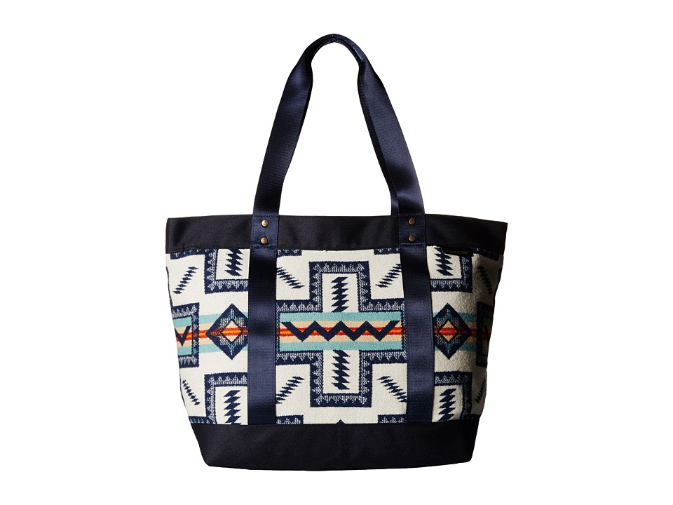 Pendleton Large Zip Canvas Tote Pueblo Cross Tote Handbags