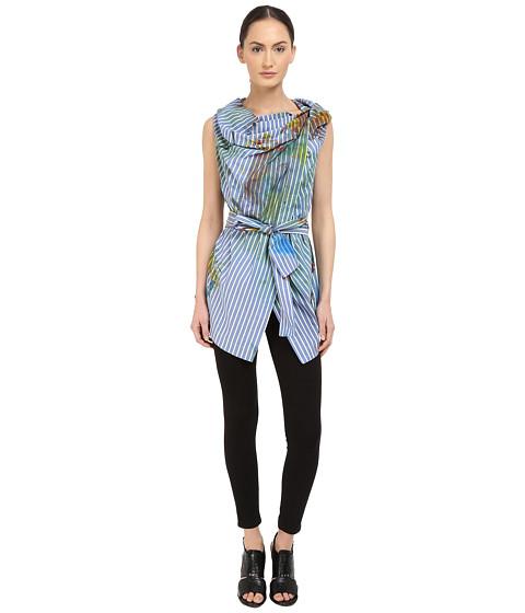Vivienne Westwood Short Sleeve Square Blouse