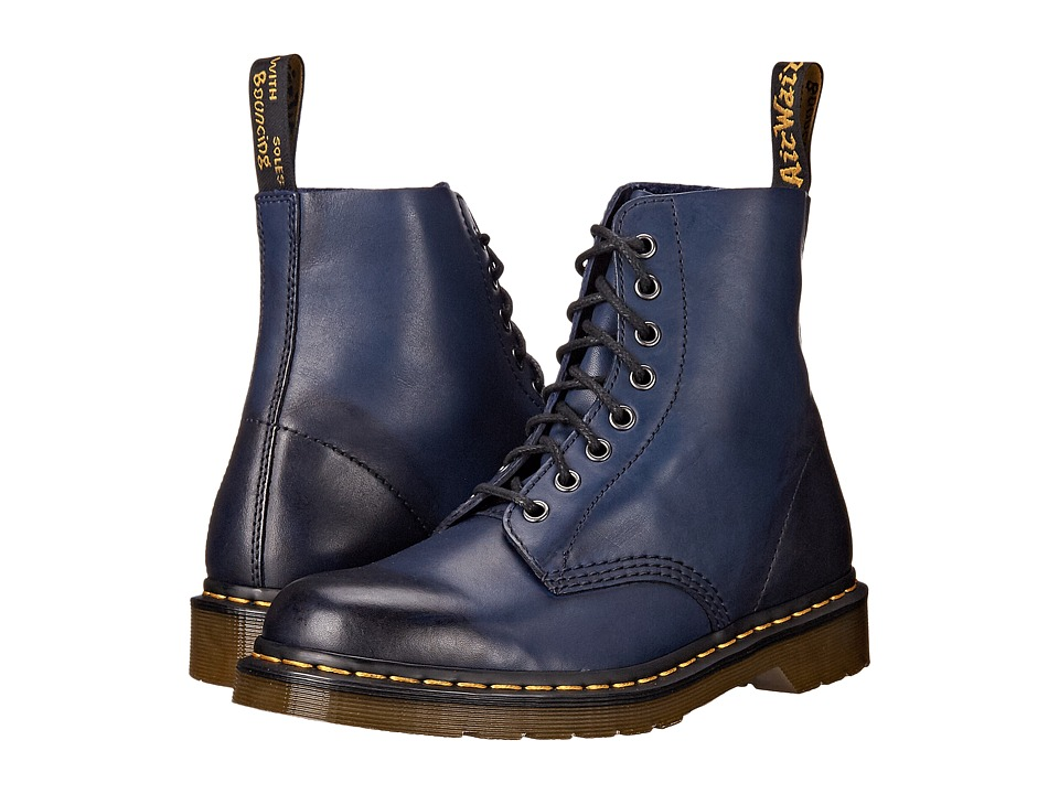 Dr. Martens Pascal 8 Eye Boot Navy Temperley Mens Lace up Boots