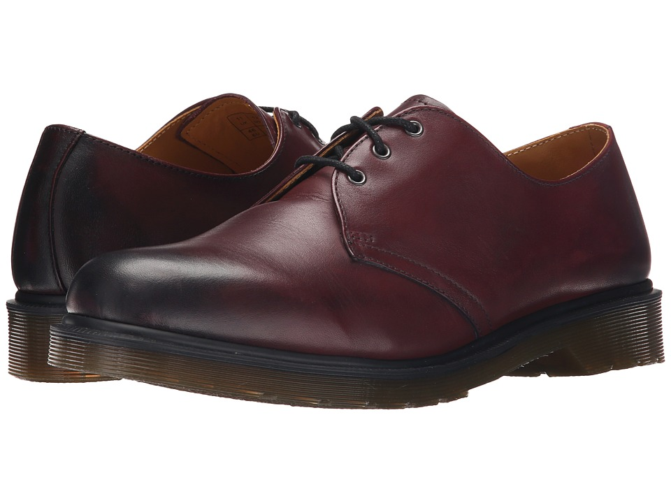 Dr. Martens - 1461 3-Eye Shoe (Cherry Red Temperley) Men
