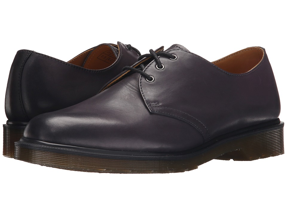 Dr. Martens - 1461 3-Eye Shoe (Charcoal Temperley) Men