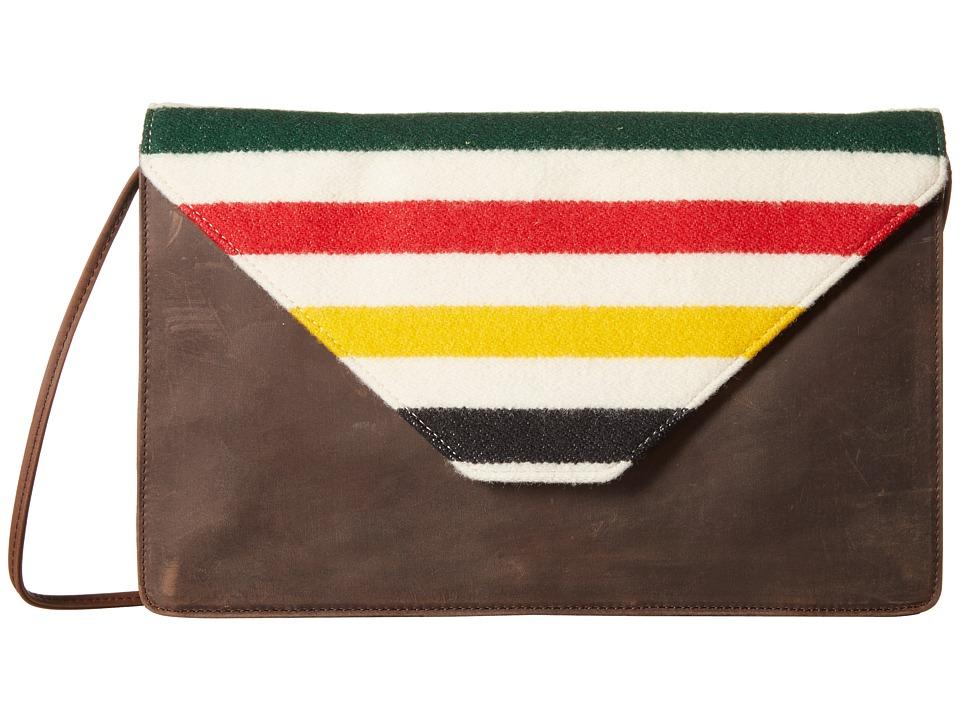 Pendleton - Mini Folio w/ Cord (Glacier Park Stripe) Wallet